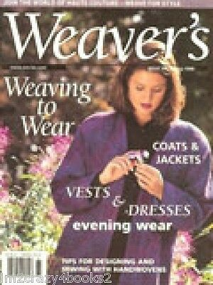 Weaver's Magazine 39 Crackle Silk Plaited Twills Weaving Projects