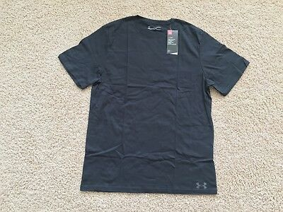 NEW UNDER ARMOUR Tactical Charged Cotton T-Shirt men Navy Blue 1234237