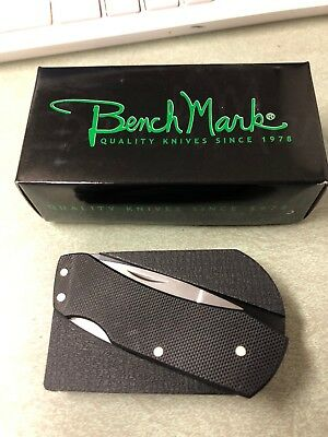 BENCH MARK BELT BUCKLE KNIFE NEW  ks''''