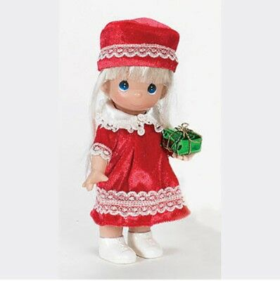 Precious Moments 7 Inch Doll, 'Love From Me To You' Blonde, New In Box, 2157