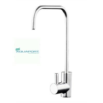 "Aquaport One Way Filtered Water Tap Square Neck 1/4"" Tube Connection"