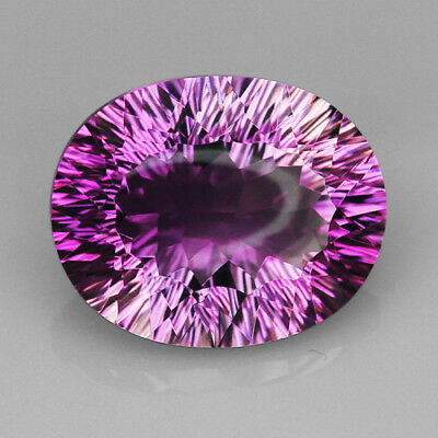 VVS 9.6Ct Precious Fancy Cut Purple & Yellow Ametrine 100% Natural UQAE166
