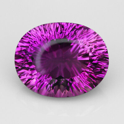 VVS 9.3Ct Precious Fancy Cut Purple & Yellow Ametrine 100% Natural UQAE160