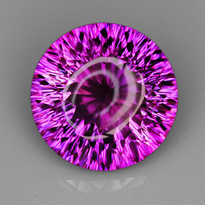 VVS 9.3Ct Precious Fancy Cut Purple & Yellow Ametrine 100% Natural UQAE159