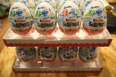 The Smurfs Kinder surprise Christmas MAXI CHOCOLATE EASTER EGG 100g