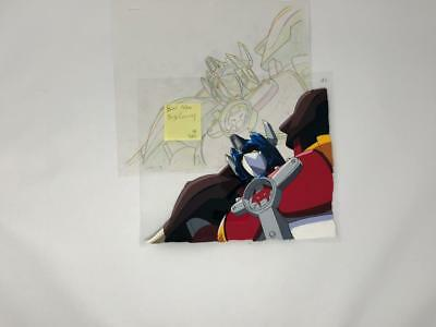 Transformers Japanese Beast Wars Neo Big Convoy Animation Art Cell Lot 385