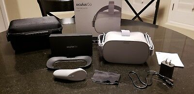 Oculus Go 64GB VR Headset - original owner, rarely used, perfect shape