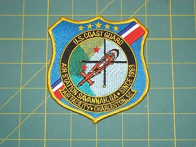 U.s. Coast Guard Air Station Savannah, Ga. Patch