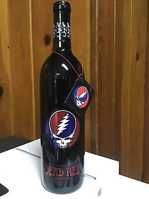GRATEFUL DEAD RED UNWINE STEAL YOUR FACE SEALED Near Mint