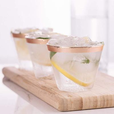 Plastic Crystal Clear 9/12oz Hard disposable Tumblers Cups for Drink Wine