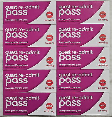 13! AMC THEATRES Re-Admit Movie Tickets Dolby / 3D / IMAX (no extra fees)