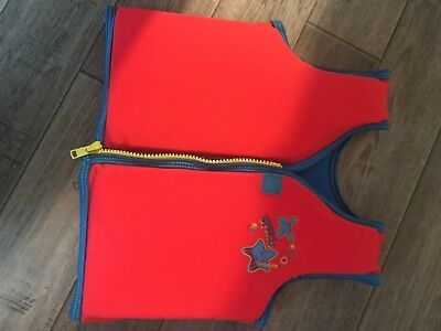 speedo baby/toddler life jacket aid 2-4 years