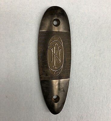 Original Mauser 98 FN Commercial buttplate, commerical sporter recoil pad