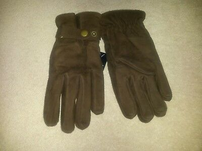Thermal M&S gloves, classic leather gloves, size M