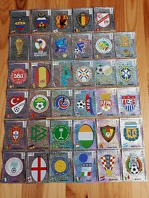 Panini WC 2002 Korea Japan to choose 1 sticker wappen originalMint