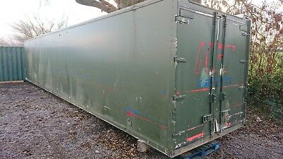 40ft Insulated shipping container fantastic conversion project!