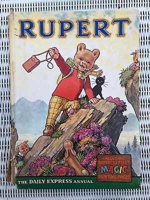 Vintage Rupert 1964 Daily Express Annual