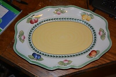Villeroy & Boch French Garden Fleurence Serving Platter 14 Inches