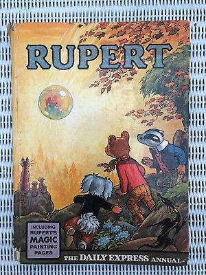 Vintage Rupert Daily Express Annual 1968