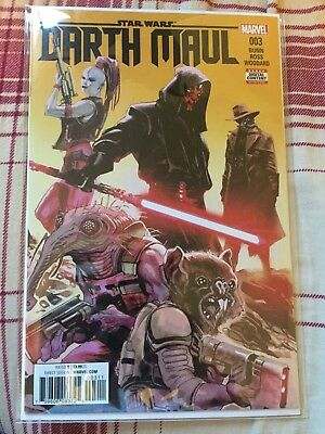 Darth Maul #3 Comic Star Wars Marvel Near Mint NM 2017 Sith Bunn Ross Woodard
