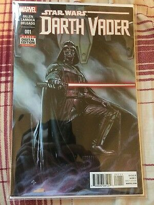 Darth Vader #1 Comic Star Wars Marvel Near Mint NM 2015 Sith Gillen Larroca