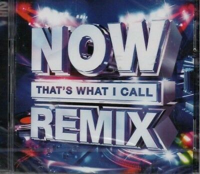 Now That's What I Call Remix - Various Artists   *new & Sealed 2018 Cd Album*