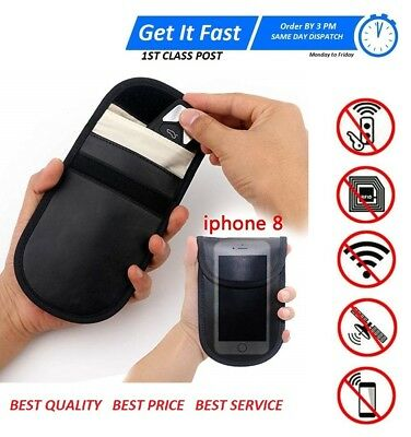 RFID Genuine Defender Keyless Anti Theft Fraud Key Fob Signal Blocker Pouch Bag