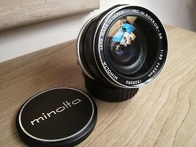 Minolta MC Rokkor 28/3.5 - lens MD 28mm f 3.5
