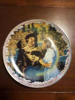 Wizard of Oz collector plate #3 Bradford Exchange- 2296A