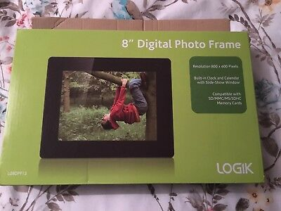 "Logik 8"" Digital Photo Frame In Box"