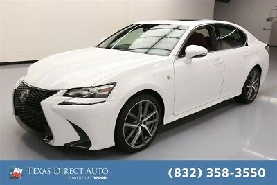 2018 Lexus GS F-Sport 4dr Sedan Texas Direct Auto 2018 F-Sport 4dr Sedan Used 3.5L V6 24V Automatic RWD Sedan