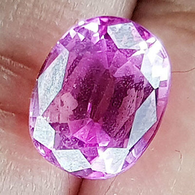 4.56 Cts Rare Color No Reserve No Inllusion Rose Pink Natural Sapphire