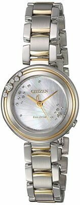 Citizen Women's Eco-Drive Two-Tone Carina Watch EM0464-59D