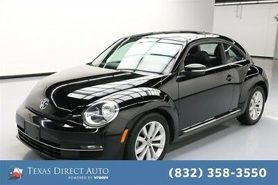 2013 Volkswagen Beetle - Classic TDI Texas Direct Auto 2013 TDI Used Turbo 2L I4 16V Automatic FWD Hatchback Premium