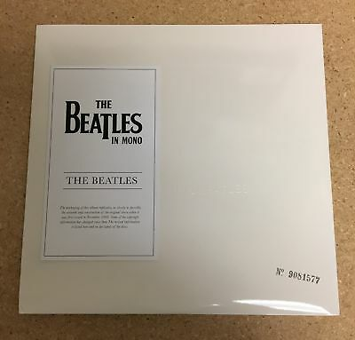 The Beatles - White Album 2LP 2014 UK Mono 180g Numbered Re-issue Top Loader