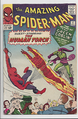 Amazing Spider-man #17 Volume 1 Second appearance of Green Goblin