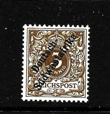 Hick Girl Stamp- Old Mh. German-South West Africa  Sc#7   Issue 1899    X5052