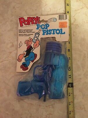 Vintage Larami POPEYE Pop Pistol  new/sealed 1984 King Features