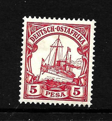 Hick Girl Stamp- Old Mh.  German-East Africa  Sc#13   Issue 1900    X5061