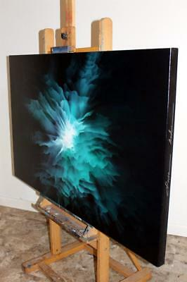 Large Original Exhibited Fine Art Abstract Canvas Oil Painting Tara Baden Signed