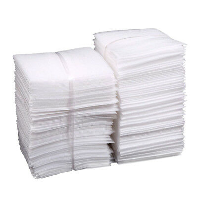 100Pcs Cushion Foam Pouches Safely Wrap Cup Packings Pouches for Shipping Moving