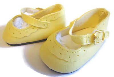 """For 15"""" American Girl BITTY BABY Doll Clothes Yellow Shoes Accessories EASTER"""