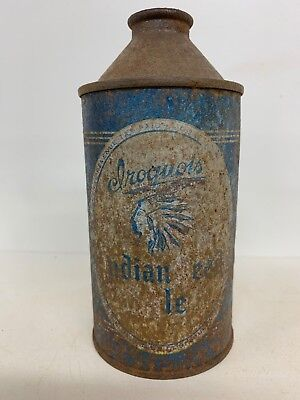 Iroquois Indian Head Ale Cone Top Beer Can #170-07