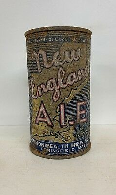 New England Ale Flat Top Beer Can