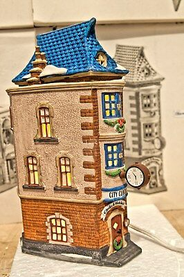 "Department56 Heritage Village ""City Clockworks"" Christmas in the city Series"