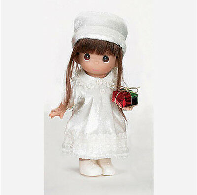 Precious Moments Doll, 'Love From Me To You', Brunette, New In Box, 2158