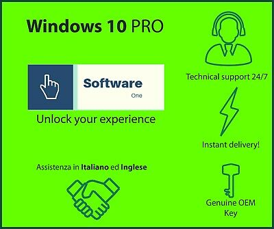 Windows 10 Pro - OEM key - 32/64 bit - broken PC