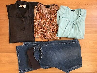 BULK BUNDLE Maternity clothes Size S/M/10 Pea in A Pod, Patch, Additions, etc.