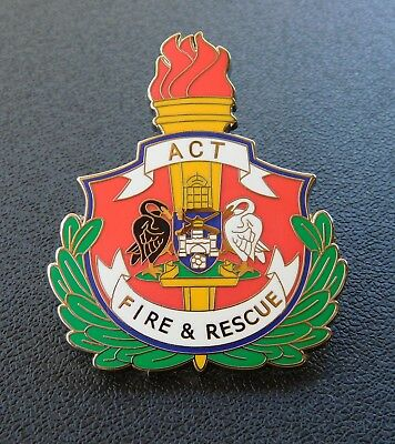 ACT Fire & Rescue Badge - Replica Badge Not Official
