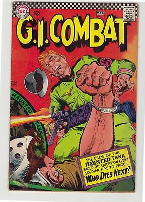 """G.I. Combat #122 - March 1967 - """"Who Dies Next!"""" - Haunted Tank story"""
